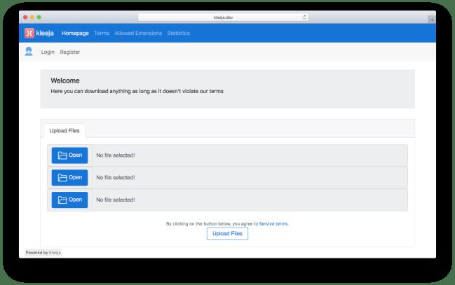 github php files uploading