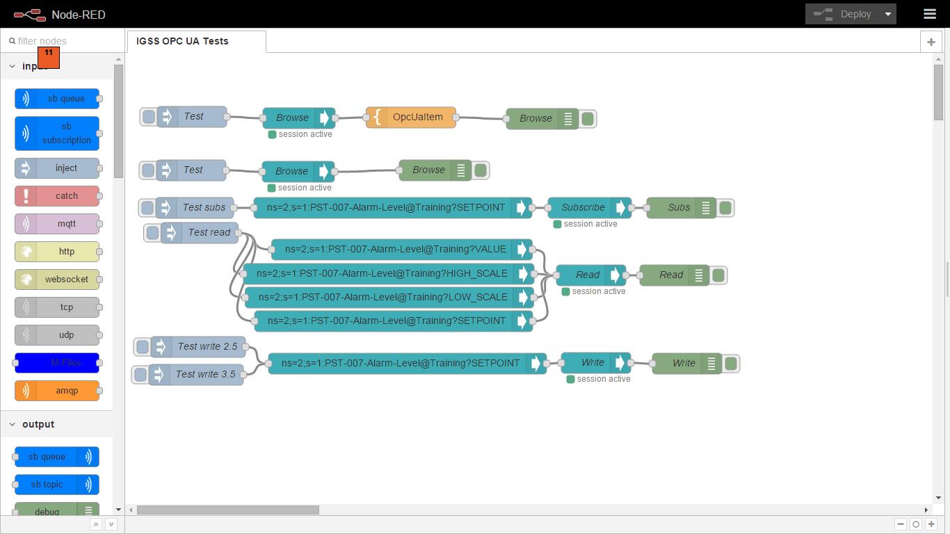noderedcontribopcua  npm