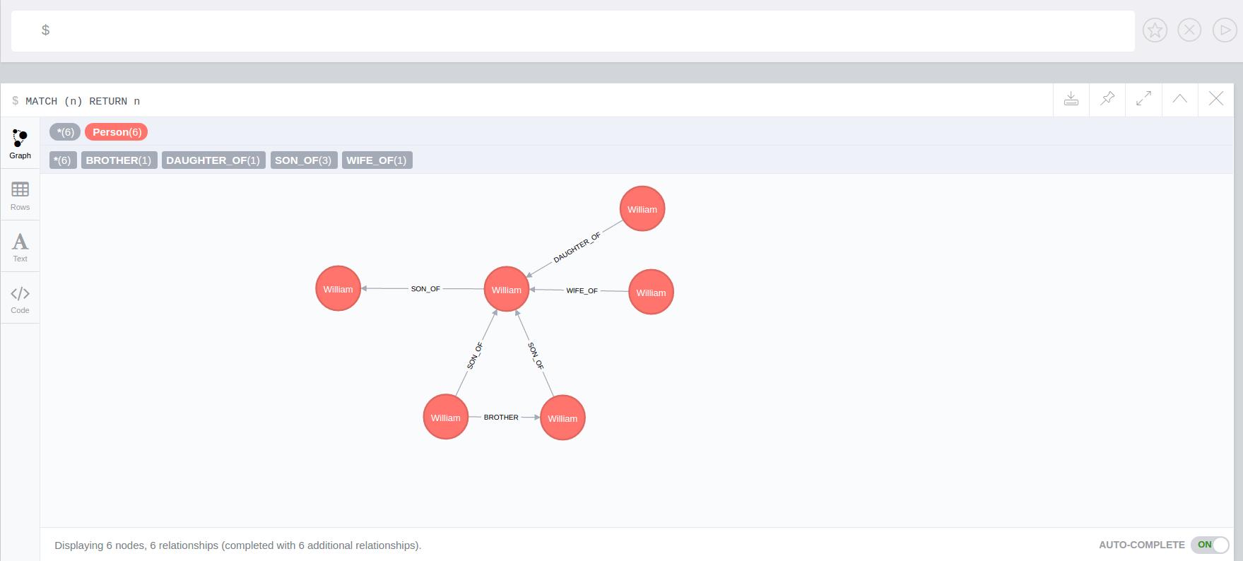 hight resolution of apoc trigger add setallconnectednodes
