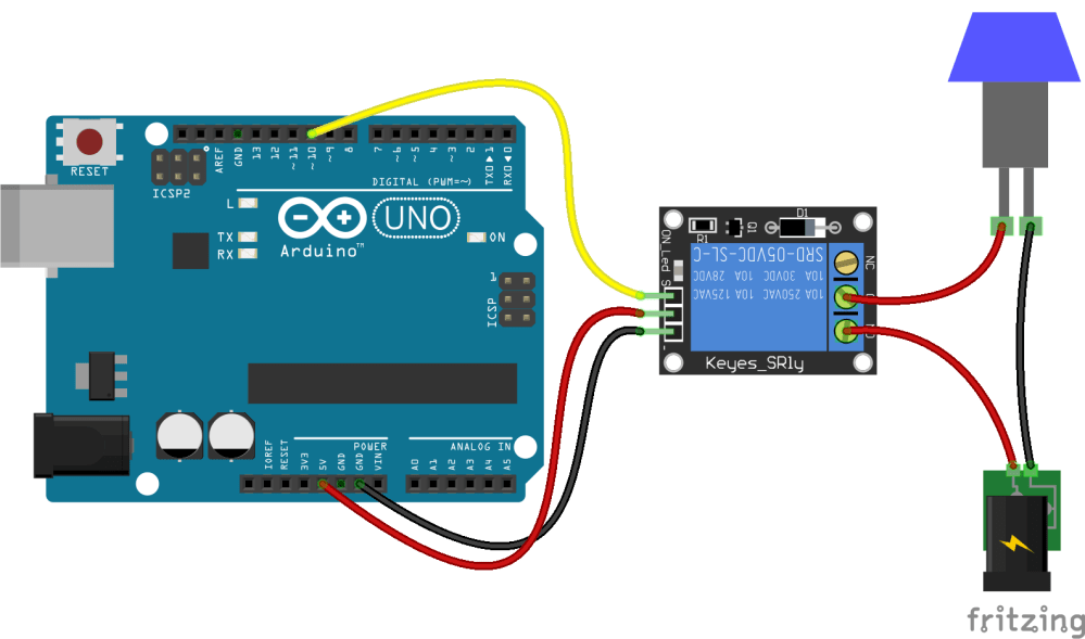 medium resolution of relay stopped working after connecting lamp to it arduino 8 relay module wiring arduino relay wiring