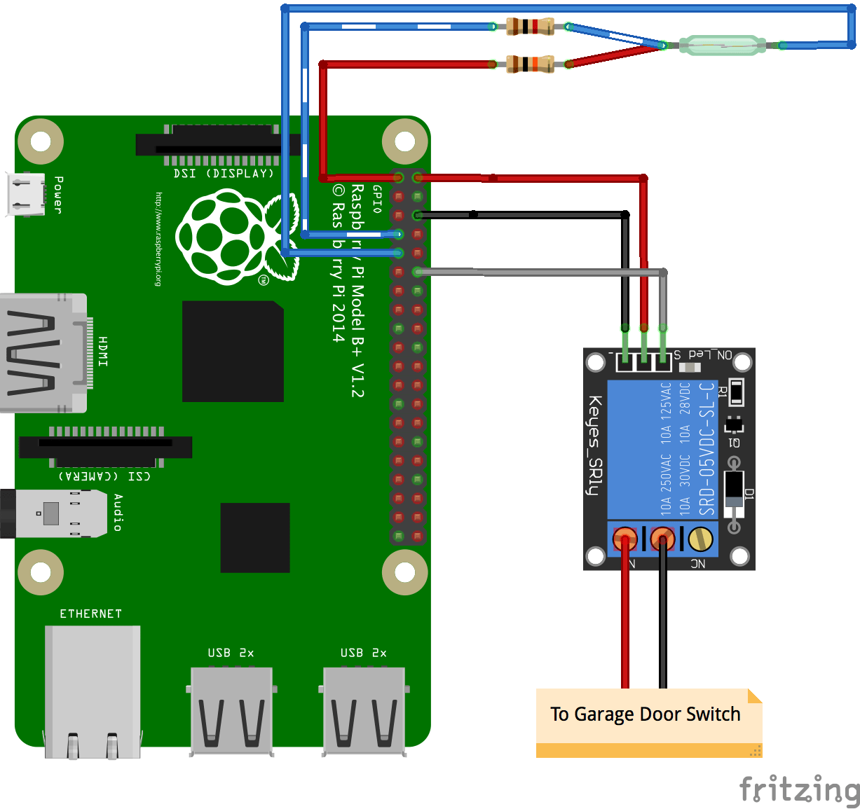 hight resolution of github simianhacker rpi garage door a raspberry pi automatic raspberry pi b wiring along with raspberry pi reed switch