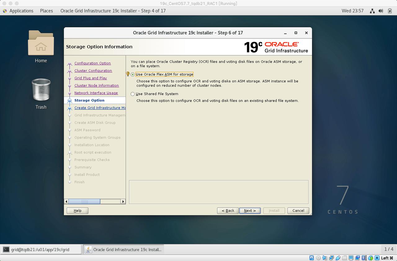19cRACGRID安装11