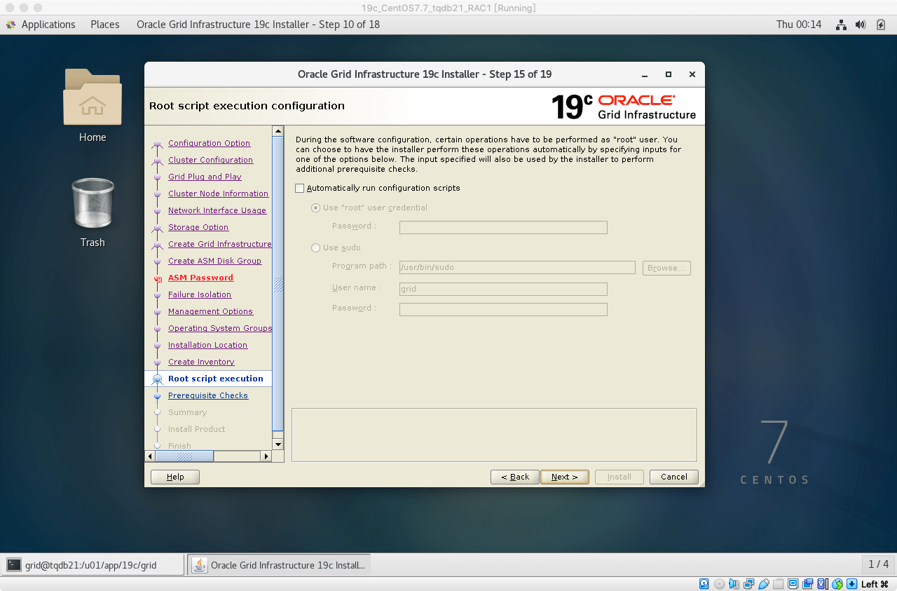 19cRACGRID安装25