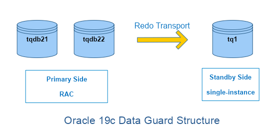 Oracle 19c Data Guard Structure