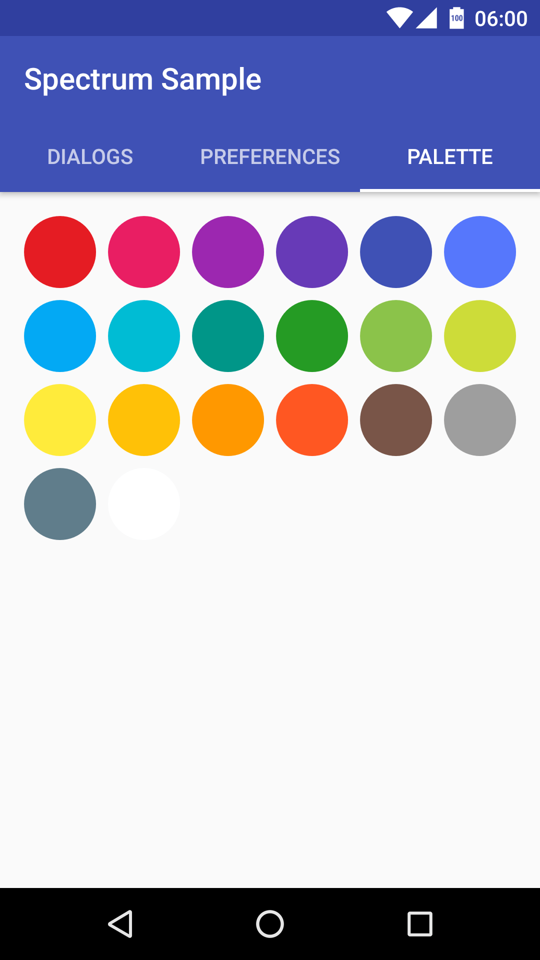The Android Arsenal  Color Pickers  Spectrum