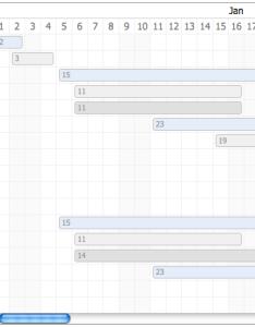 Sample gantt  chart also github thegrubbsian jquerynttview an editable jquery rh