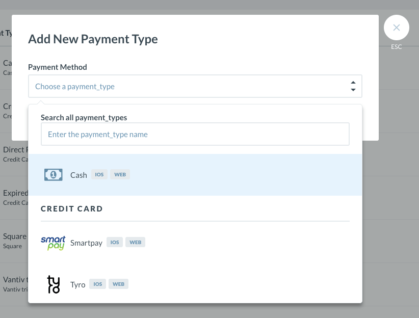 integrated payments setup how