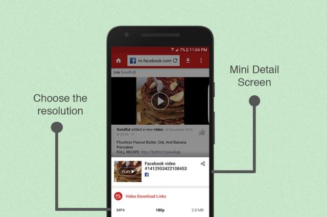 Unduh video Facebook dengan resolusi terbaik