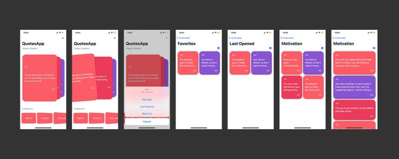 Quotes SwiftUI IOS App - 1