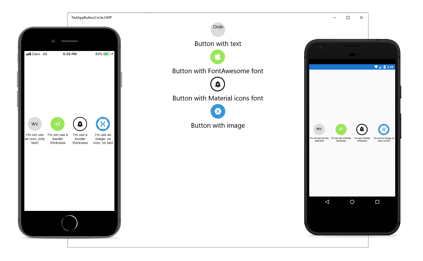 Circle Button for Xamarin.Forms