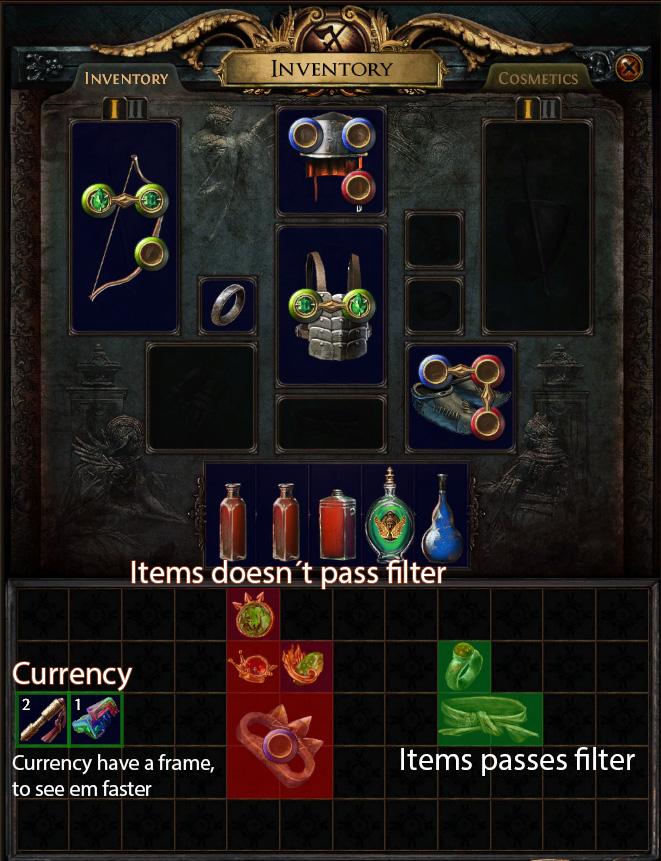 redvex inventoryhelper that filter