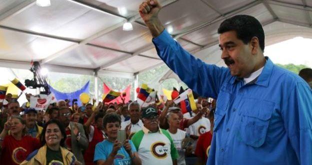 Venezuela crisis: US hits 13 top officials with sanctions