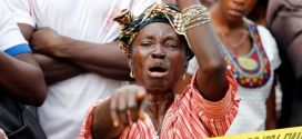 Burials for Sierra Leone mudslide victims