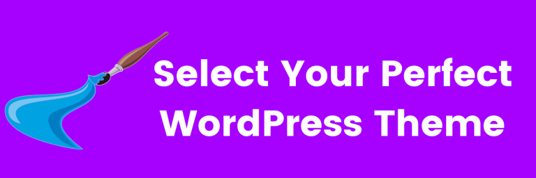 select your perfect wordpress theme