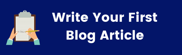 write your first article