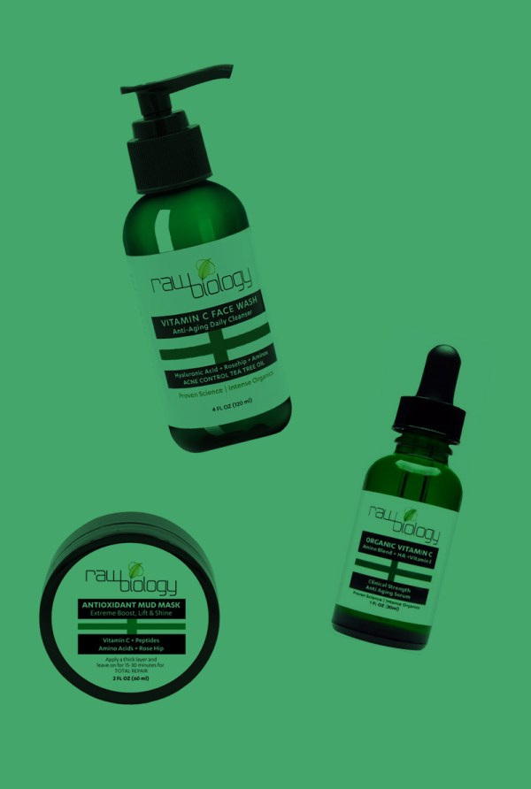Rawbiology Vitamin Face Wash Cream & Hyaluronic Acid Serum
