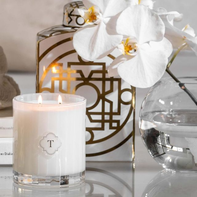 Temple candles, as part of Rawbought's Mother's Day gift guide.