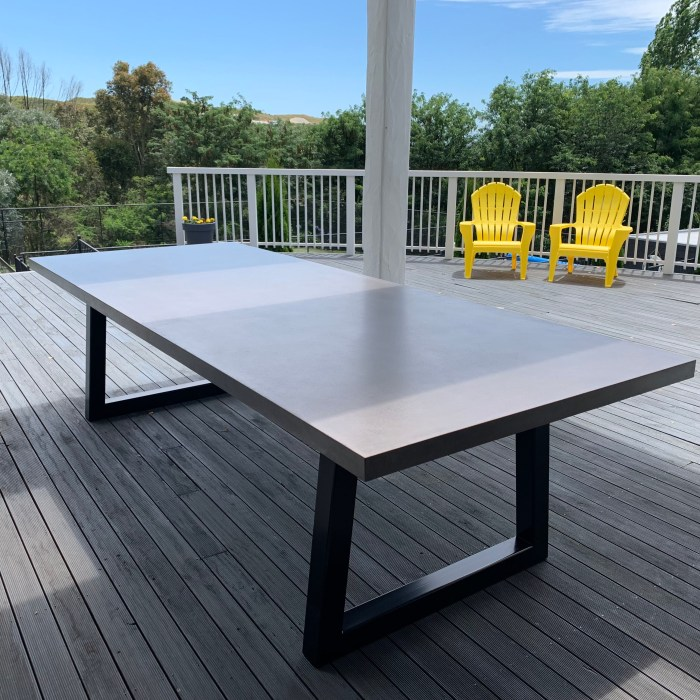 Outdoor Table – Private Client