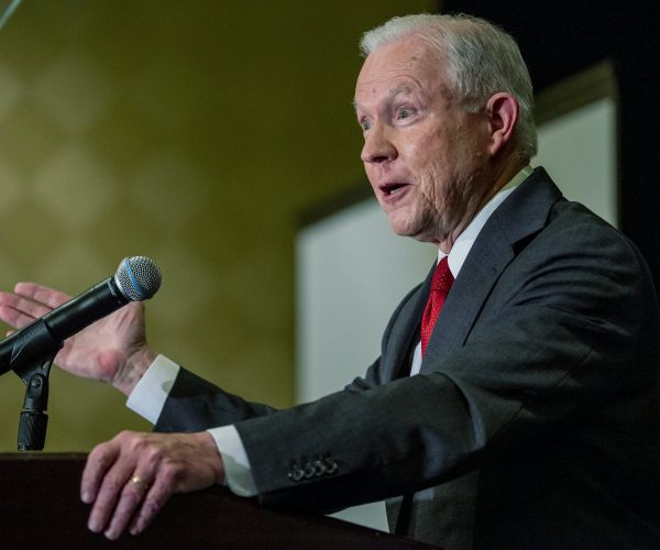 Sessions Snaps Back at Trump: 'Damn Fortunate' to Have AG who Protected Rule of Law
