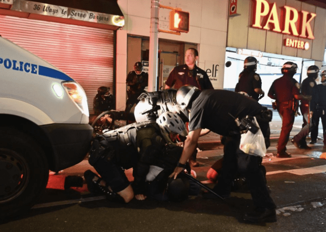 Clashes With Police Continue In New York, Washington During Peaceful 5th Night Of Unrest As Arrests Near 10,000
