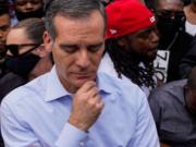 After Encouraging Mass Protests LA Mayor Garcetti Threatens Residents With Another Full Shutdown