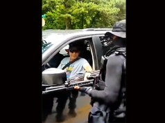 Black Armed Militia Holds Up White Drivers For Reparations