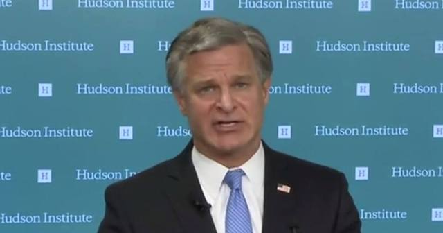 "Wray Details Threat From China, Their Goal is to be ""Only Superpower by any Means Necessary"""