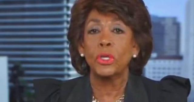 When Addressing Looting Maxine Waters Weirdly Points the Finger at 'Predatory Lending'