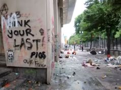 Stomach-Turning State of Portland Courthouse After Leftist Rioters Were Finished