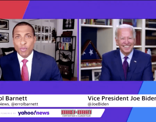 Biden Asks Black Reporter If He's A Junkie On Cocaine