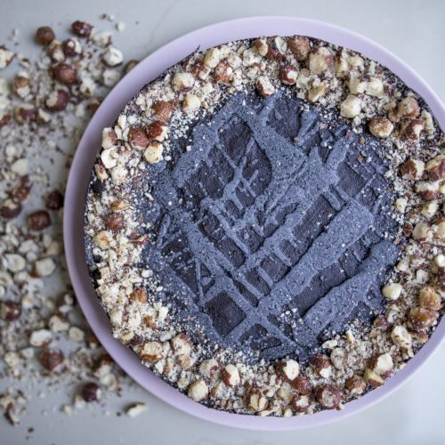 torta raw ferrero rocher