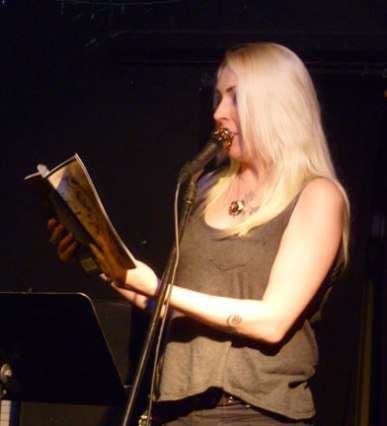 Donna Lynch at Kafe Kerouac