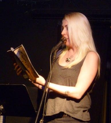 Donna Lynch at Kafe Kerouac