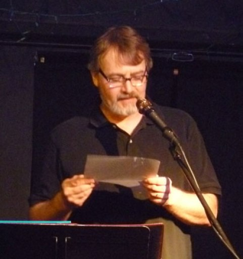 Michael Arnzen at Kafe Kerouac