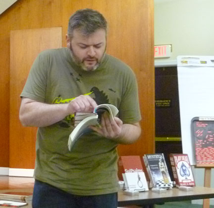 Matt Betts at Bexley Public Library