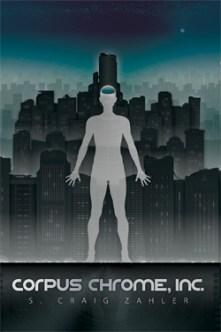 Corpus Chrome, Inc. science fiction crime cover art