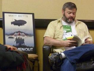 Matt Bets reading