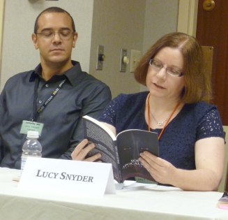 Lucy Snyder reading