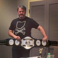 The Readers' Choice championship belt