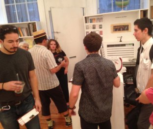 The Terrault Gallery crowd