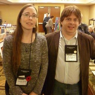 Jennifer Barnes & Tom Connair