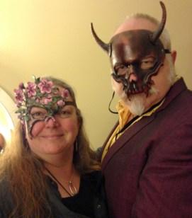 Janice & Jim with masks!