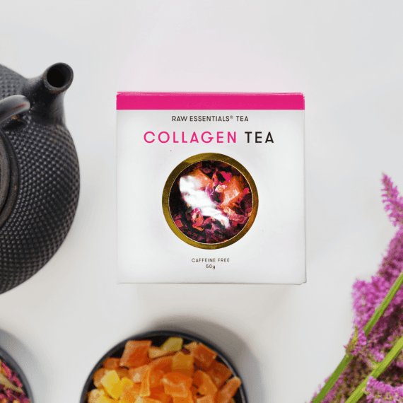 Collagen Tea – Flat lay – 1