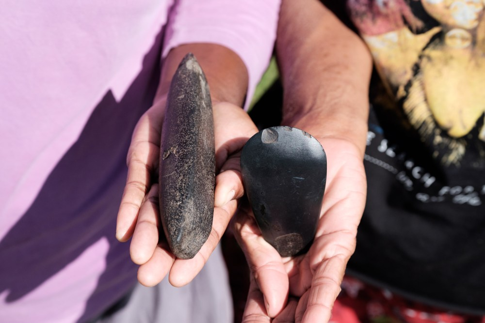 Stone tools found in Ra