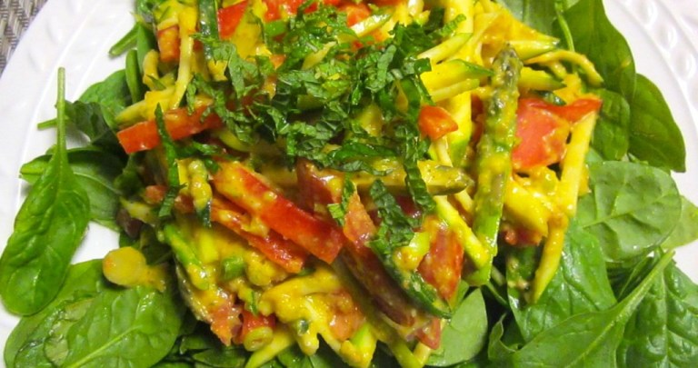 Vegetables with Orange Curry Sauce