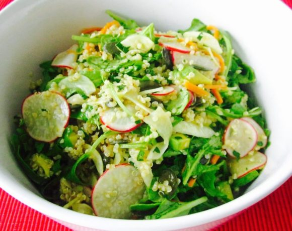 Spring Vegetable & Quinoa Salad