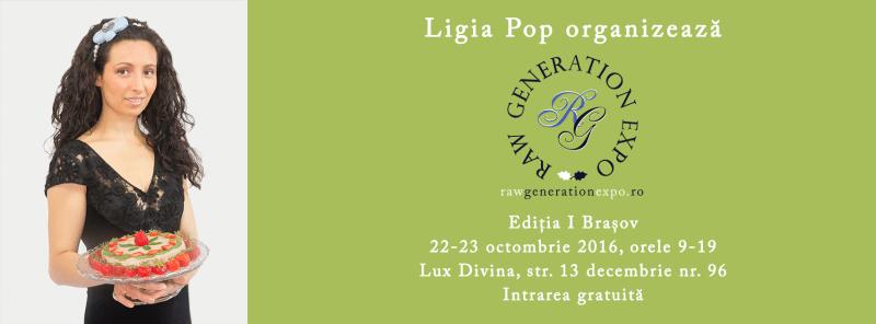 Banner oficial - Raw Generation Expo - Editia I Brasov
