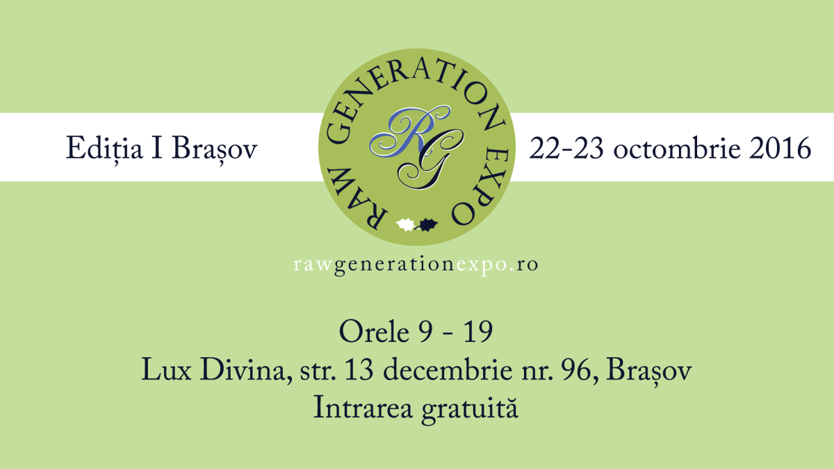 Raw Generation Expo Brașov, Ediția I, 22-23 octombrie 2016