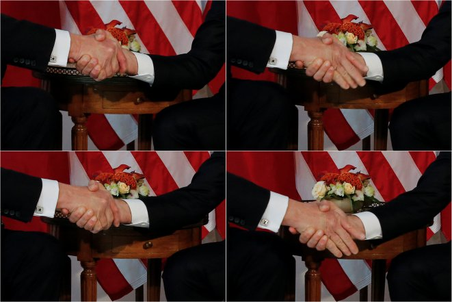 A painful handshake is felt on both sides of the Atlantic