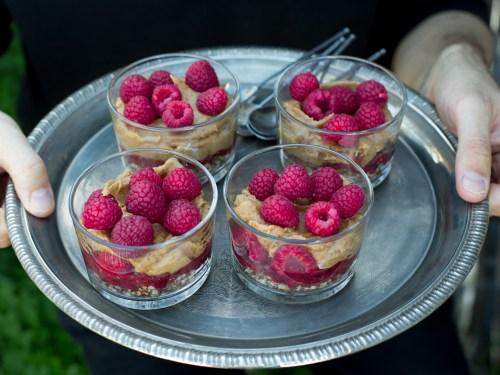 Rohkost Gerichte Desserts
